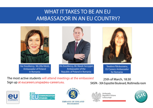 WHAT IT TAKES TO BE AN EU AMBASSADOR IN AN EU COUNTRY? - 25.03.2015