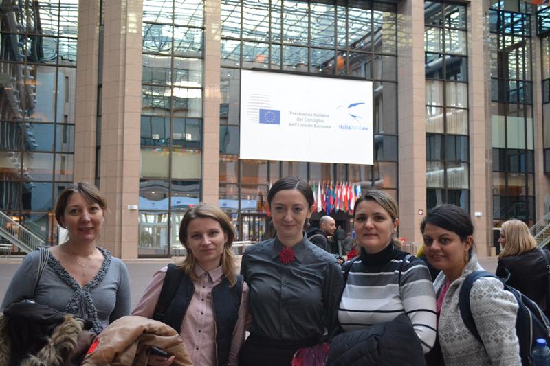 Serie de cursuri la Bruxelles în cadrul proiectului POSDRU/156/1.2/G/140578 - decembrie 2014