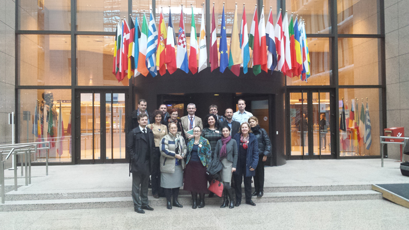 Serie de cursuri la Bruxelles în cadrul proiectului POSDRU/156/1.2/G/140578 - noiembrie 2014