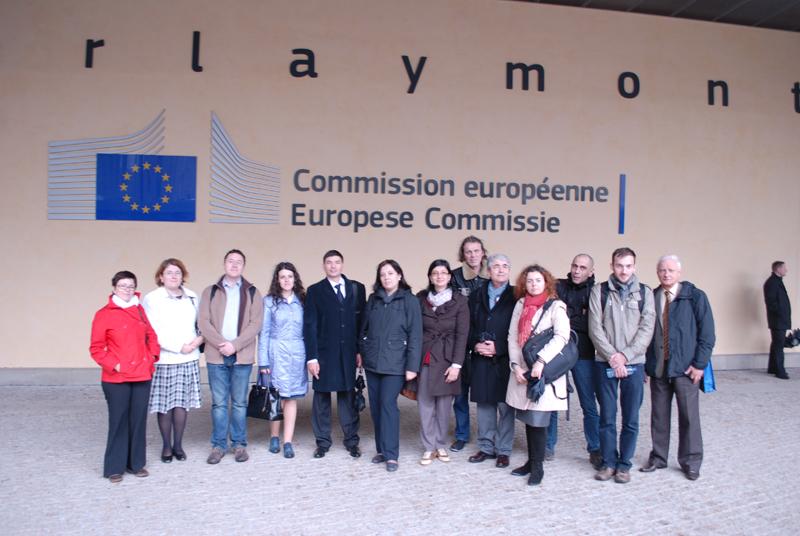 Serie de cursuri la Bruxelles în cadrul proiectului POSDRU/156/1.2/G/140578 - octombrie 2014