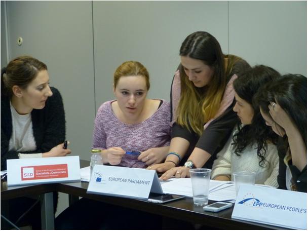 A doua serie de studenți la Bruxelles în cadrul proiectului POSDRU/156/1.2/G/140578 - aprilie 2015