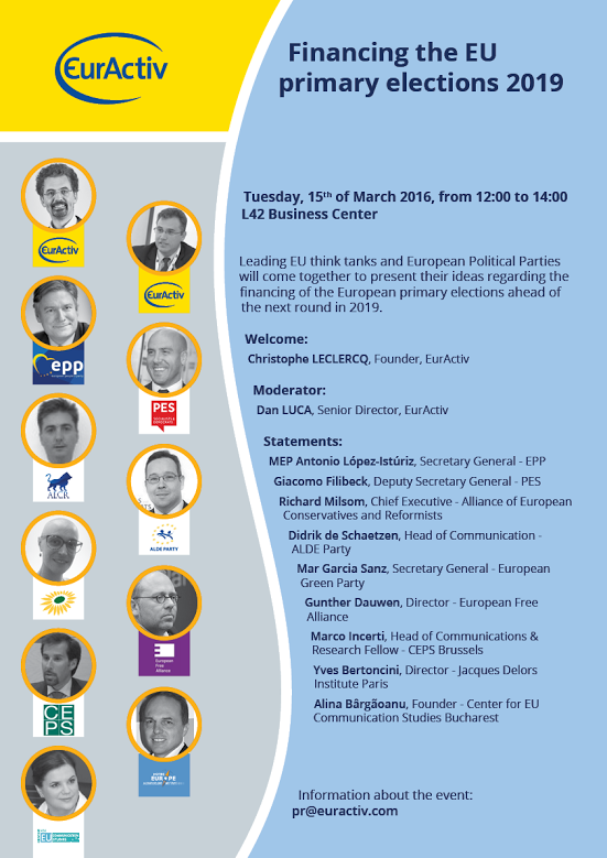 Poster-Financing the EU Primary Elections 2019